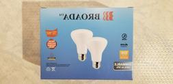 Broada LED light bulbs - 50w equivalant  8W draw. R20's. 2 B