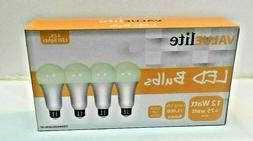LED Light Bulbs 75 Watt Equivalent E26 A19 1100lm 12W SOFT W