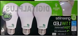 LED Light Bulbs GREENLITE 11W / 75W Equivalent Warm White 30