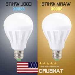 LED Light Bulbs E26 5W 12W Daylight Soft White 3000K-6500K G
