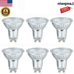 led light bulbs gu10 base 5w spotlight