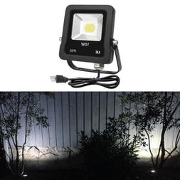 LED Outdoor Security Flood Light 10W 800lm Daylight 100W Hal