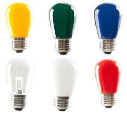 Halco LED S14 1.4W Multi Color Dimmable E26 Medium Base Ligh