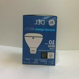 GE LED SOFT LIGHT BULB BULBS BR30 R30 DIMMABLE 2700K FLOOD -