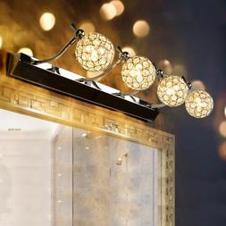 LED Vanity Lighting Crystal Wall Lamp Bedroom Mirror Light W