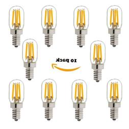 LED Vintage Tubular Night Light Bulb,E12 T20 1W/2W LED Filam