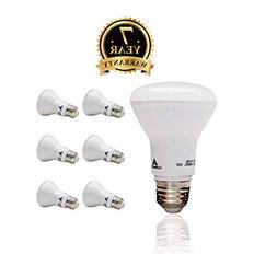 LED Light Bulb R20 Small Lamp Bulb- 6 Pack Large Standard Bu