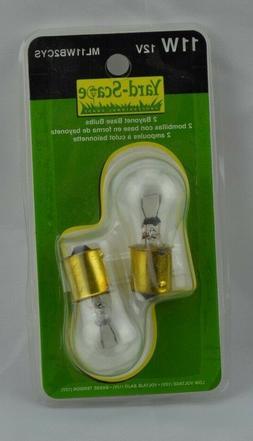 Yard-Scape Light Bulbs Bayonet Base 11W 12V NIP Landscaping
