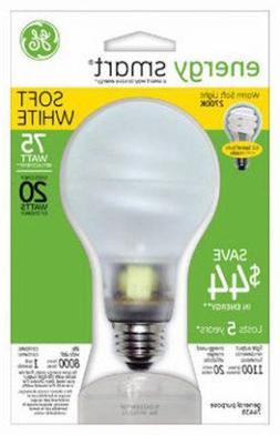 GE Lighting 74438 Energy Smart CFL 20-Watt  Light Bulb 1PK