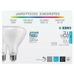 Cree Lighting BR30 Indoor Flood 65W Equivalent LED Bulb, 655