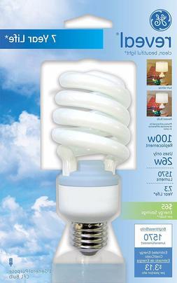 GE Lighting CFL 26-Watt  Spiral Light Bulb w/ Medium Base