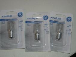 Ge Lighting 25 Watt Clear T7 Appliance Light Bulb 10692