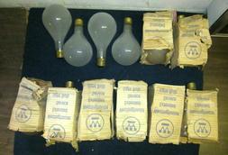 Lot of 12 NOS NIB Westinghouse Mogul Base Frosted Lamp Light