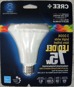 LOT of 3 PAR30 Long Neck LED 3000K Bright White 75Watt Equiv