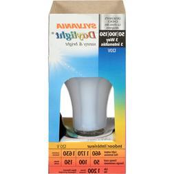 Lot of 5 Sylvania Daylight 3-Way Light Bulbs 50/100/150 Watt