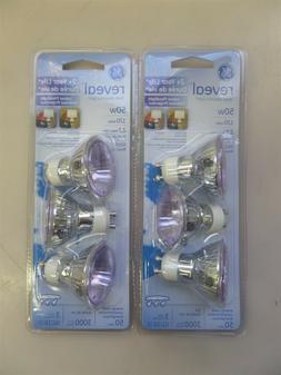 Lot of 6 New GE Reveal 50w 120v Indoor Floodlight Light Bulb