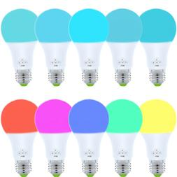 10 Pack WiFi Smart Light Bulb Bulbs Dimmable LED E27 W/ Goog