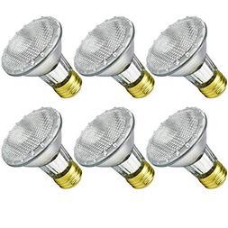 Luxrite LR20613 38-Watt Eco Halogen PAR20 Light Bulb, Dimmab