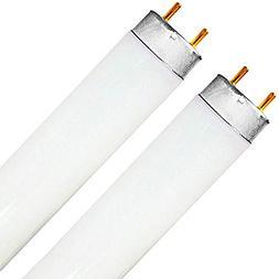 Luxrite F32T8/741 32W 48 Inch T8 Fluorescent Tube Light Bulb