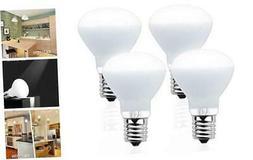 Lustaled R14 Reflector E17 LED Light Bulbs, 4 Watts E17 4W-4