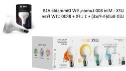 LIFX - Mini 800-Lumen, 9W Dimmable A19 LED Bulb + 1 LIFX + B