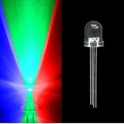 mod/smart 5mm Tri-Colored 4 prong LED- Red/Green/Blue