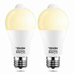 Motion Sensor Light Bulb 15W Dusk to Dawn LED Light Bulb A19