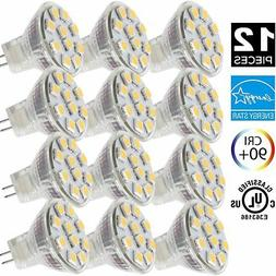 2.4W LED MR11 Light Bulbs, 12v 20w Halogen Replacement, GU4
