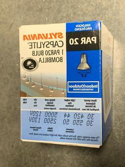 SYLVANIA N00813 CAPSYLITE PAR 20 HALOGEN BULB 50PAR20/CAP/NF