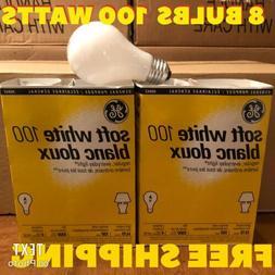General Service 100 W Incandescent Light Bulb Soft White Med