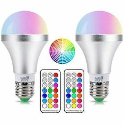 NetBoat LED Color Changing Light Bulb with Remote Control,10