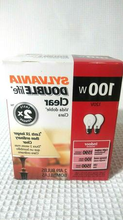 NEW  SYLVANIA 100 Watt Light Bulbs  A19