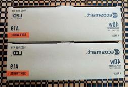 New 2 box EcoSmart 40-Watt Non-Dimmable LED Light Bulb