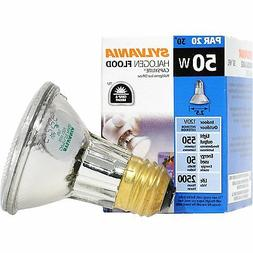 NEW Sylvania 50 Watt PAR20 14502 Halogen Light Bulbs Narrow
