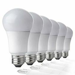 TCP New 60 Watt Equivalent 6-pack, A19 LED Light Bulbs, Non-