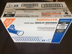 NEW Box of 12 - Sylvania 130v 65w 65BR30/FL/CVP Indoor Flood