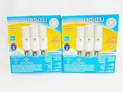 NEW GE Lighting Bright Stik LED Bulb 60W Soft White - 3X2Pac