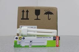 NEW Osram Dulux D/E 18W/827 CFL Bulb Lot of 10 20kWh/1000h F