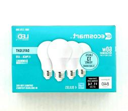 NEW!!  EcoSmart 60-Watt Equivalent A19 Dimmable Energy Star