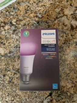 NEW sealed Philips Hue White and Color Ambiance A19 Light B