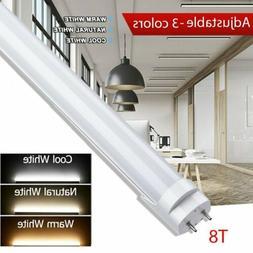 New T8 18W 4ft 3ft 2ft LED Tube 3000K-6000K Fluorescent Repl