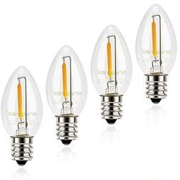 Night Light Bulbs, Emotionlite C7 Candelabra LED Light Bulbs