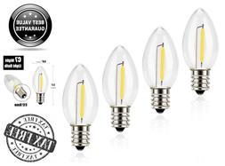 4 Pack Emotionlite C7 Candelabra LED Night Light Bulbs 2700K