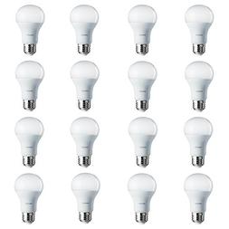 Philips LED Non-Dimmable A19 Frosted Light Bulb: 800-Lumen,