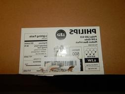 Philips LED Non-Dimmable G25 Frosted Light Bulb: 500-Lumen,