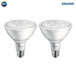 Philips LED Non-Dimmable PAR38 25-Degree Spot Light Bulb: 95