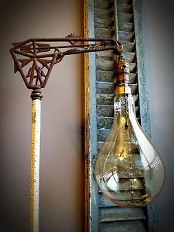 """NOS60-PS Oversized Antique Nostalgic Light Bulb 60W 7"""" Dia 1"""