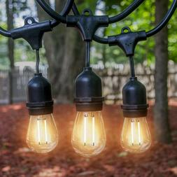 Outdoor String Light 48FT S14 Waterproof Commercial Patio Ya