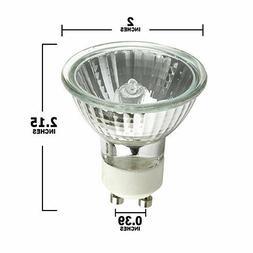 Pack of 10 Halco 107180 - MR16FL50/L/GU10 MR16 Halogen Light