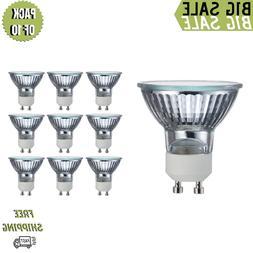 Pack of 10 Bulbs 35 Watt GU10 Halogen Bulb 120 Volt GU10 Hal
